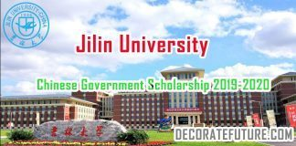 Chinese Government Scholarship 2019-2020