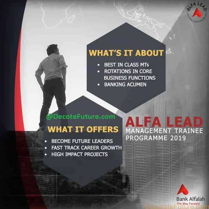 ALFA LEAD Management Trainee Programme 2019