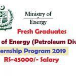Ministry of Energy Internship Program 2019