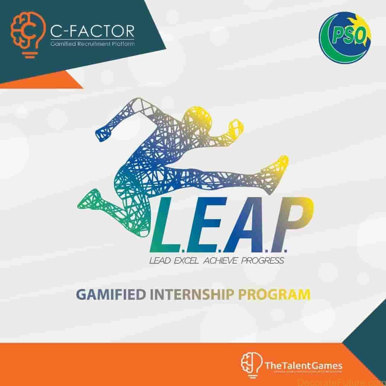 Pakistan State Oil (PSO) LEAP Internship Program 2019