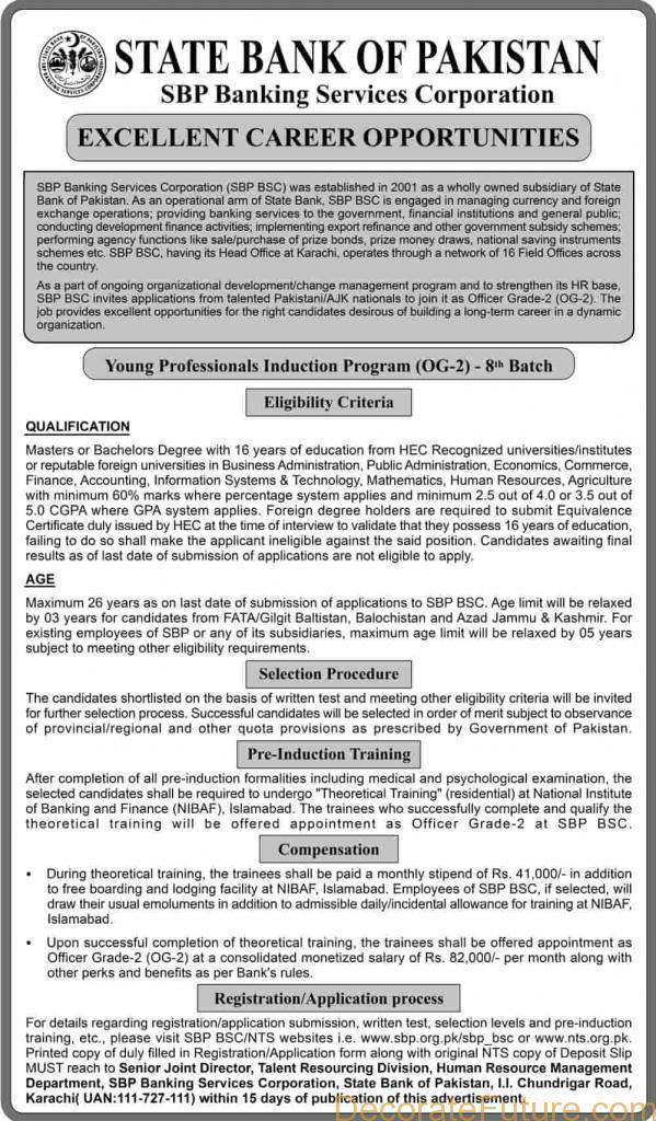 Young Professionals Induction Program (YPIP) 8th Batch AD
