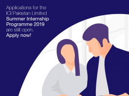 Ici limited Internship, internship at karachi