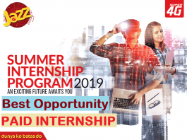 Weeks Paid Summer Internship Program 2019