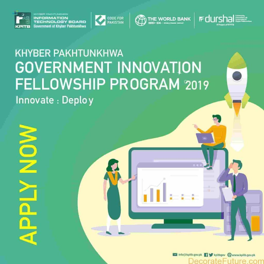KPITB Government Innovation Fellowship Program 2019