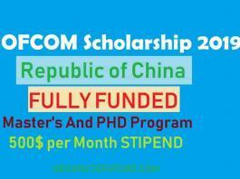 CHINA SCHOLARSHIP FOR PAKISTANI STUDENT