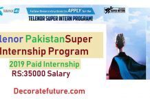 Telenor-Pakistan-Super-Internship-Program-2019