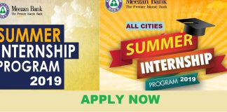 MEEZAN BANK INTERNSHIP