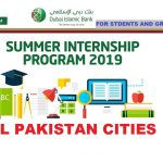 DIB summer internship program 2019