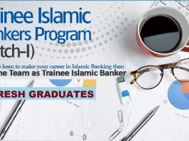 Trainee Islamic Banker Program 2019