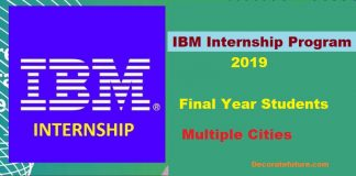Ibm Internship Online Apply in Pakistan