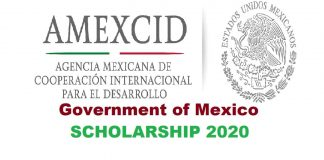 Government of Mexico Scholarship 2020