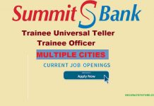 summit bank latest jobs 2019