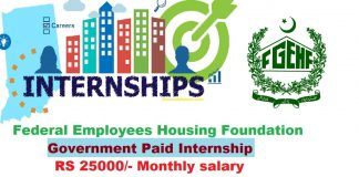Federal Employees Housing Foundation Government Paid Internship