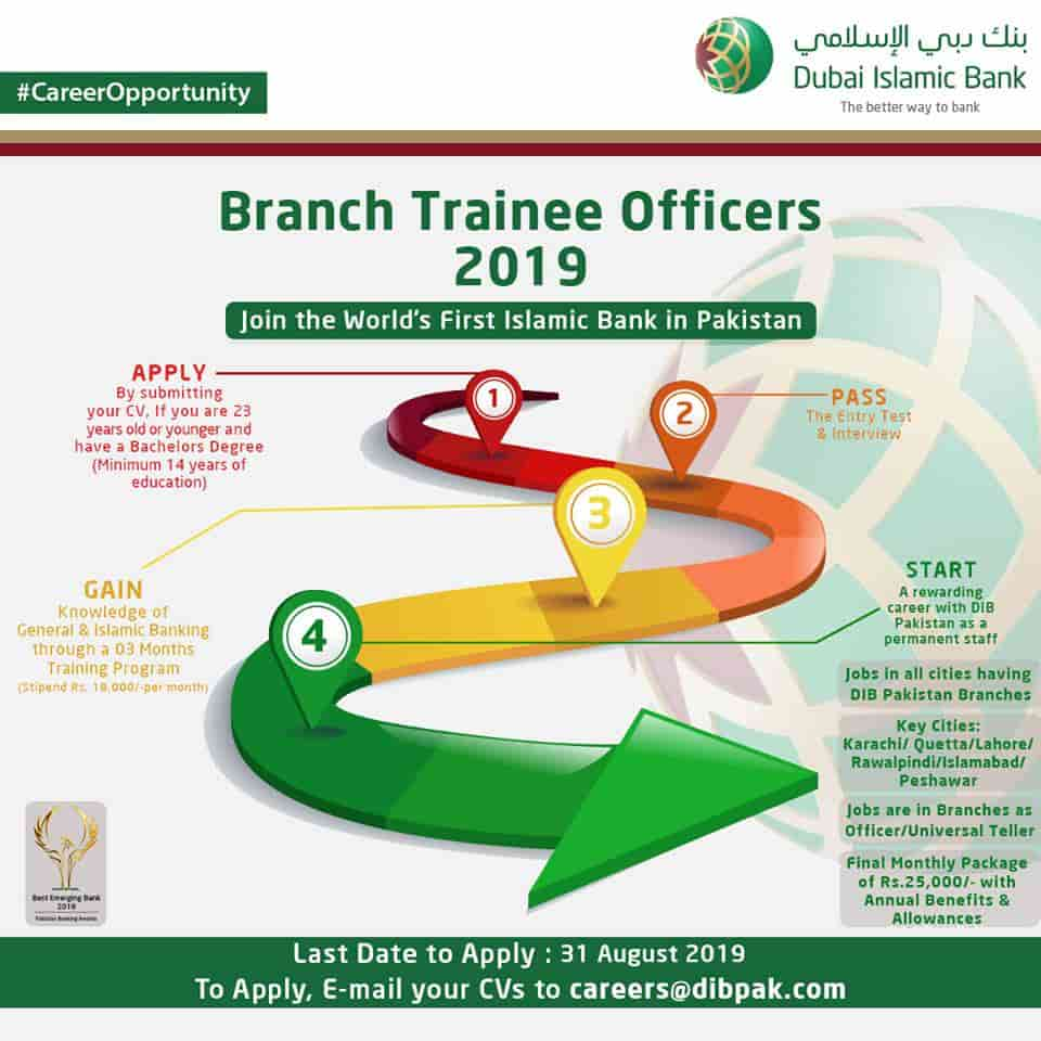 DIB Branch Trainee Officers