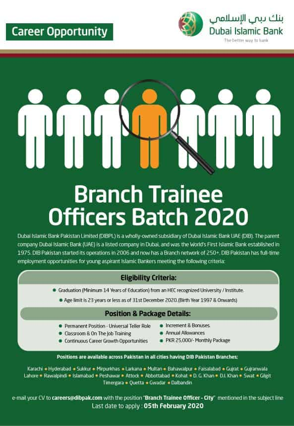 Branch Trainee Officers
