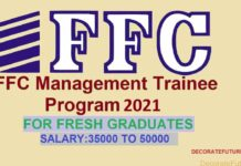 ffc managment trainee Program 2021